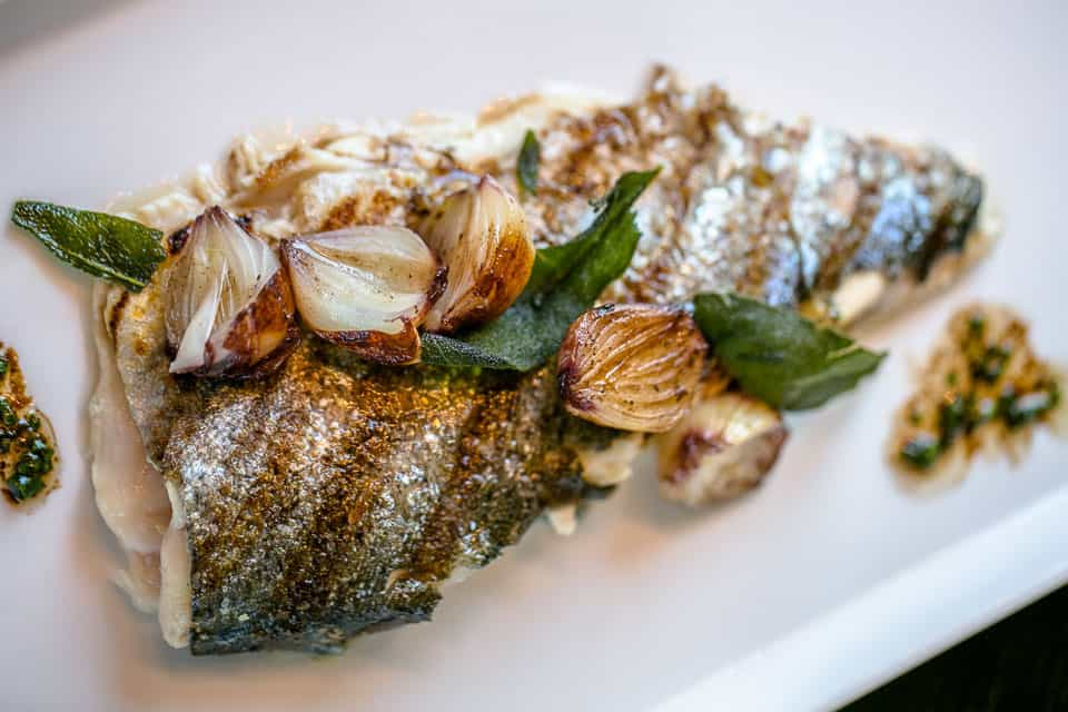 Fish with Cippolini Onions