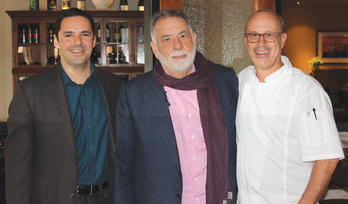 Sandy Springs' il Giallo Osteria hosts Coppola lunch