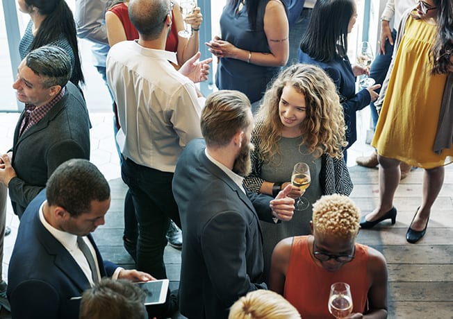 Networking + Wine Down
